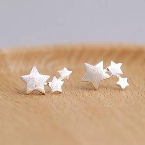Jewelry - Stud Star Earrings sterling silver